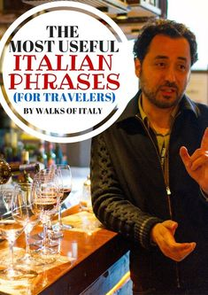 Italian Words and Phrases: The Most Useful Italian for Travelers Ordering in Italian in a Venetian cicchetti bar is easy, and also an amazing way to enjoy the city. Basic Italian, Italian Words, Phrases In Italian, Enjoy In Italian, Italy Travel Tips, Rome Travel, Travel Destinations, Venice Travel, Travel Usa