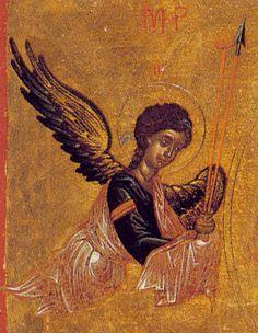 Byzantine Icons, Byzantine Art, Tall Christmas Trees, Angel Artwork, Odilon Redon, Angel Ornaments, Cherub, Fresco, Art Inspo