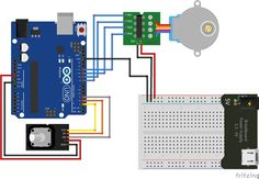 Control stepper motor with arduino and rotary encoder
