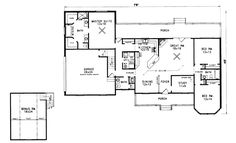 House Plans, Home Plans and floor plans from Ultimate Plans  FAVORITE PLAN  2089 ft. eliminate one bath and make it into pantry