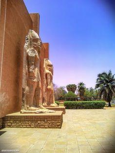 Sudan National Museum, Khartoum متحف #السودان القومي، الخرطوم (By Siddig Haidar) #sudan #museum #khartoum #antiquities