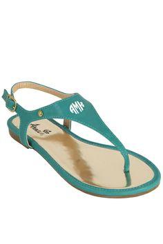 tinytulip.com - Monogrammed Thong Sandals , $36.50 (http://www.tinytulip.com/monogrammed-thong-sandals)
