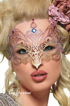 Image detail for -Masquerade Mask by Leg Avenue. A great choice for the elegant lady of ...