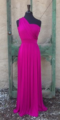 Would be good for a bridesmaid dress! I Love the magenta color!