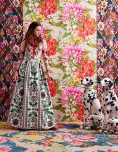 Tory Burch Spring/Summer 2017 in Deco Home Magazine