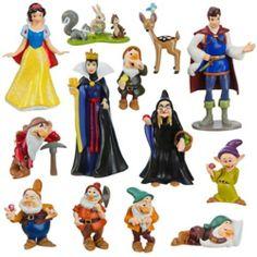 Disney Snow White and the Seven Dwarfs Figure Deluxe Play Set Disney Play, Film Disney, Disney Toys, Disney Fun, Disney Cartoons, Disney Movies, Disney Characters, Disney Princess Set, Disney Princess Snow White