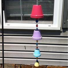 My version on the DIY wind chime. Happy Mother's Day!!