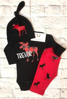 A personal favorite from my Etsy shop https://www.etsy.com/listing/535348694/baby-boy-clothes-moose-bodysuit-moose