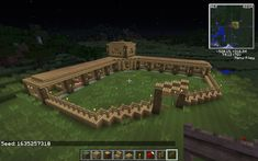 minecraft horse ranch - Google Search