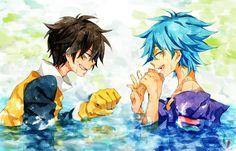 「びしょ濡れだね望ちゃん」「誰のせいだ誰の!」/狐
