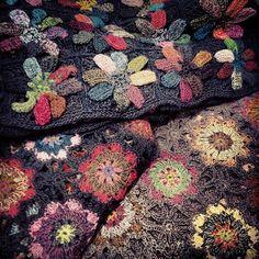 Scarlet Jones Melbourne: Sophie Digard Just Arrived Manta Crochet, Freeform Crochet, Crochet Art, Crochet Motif, Crochet Shawl, Crochet Designs, Crochet Crafts, Crochet Projects, Crochet Patterns
