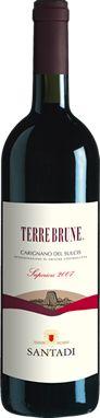 Cantina di Santadi - Terre Brune, Carignano del Sulcis DOC Superiore. Vino rosso