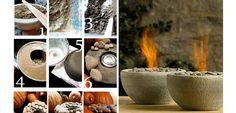 DIY Fire Rock Bowl - DIY Backyard Ideas on a Budget for Summer - Click for Tutorial