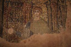 Ravenna Mosaics, Sacred Art, Mona Lisa, San Giorgio, Artwork, Painting, Image, Icons, Places