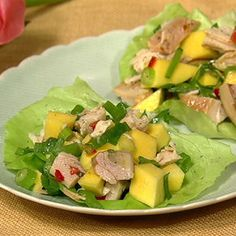 Thai Chopped Chicken Salad Daphne Oz