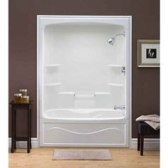 1 piece tub shower combo. Liberty 60 Inch 1 piece Acrylic Tub and Shower  Right Hand decorate around a fiberglass tub shower combo enclosure Google