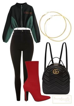 """Untitled #775"" by lexceptionallystyled on Polyvore featuring Topshop and Gucci"