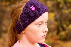 Handmade ear warmer headband. by GirlCanHook on Etsy https://www.etsy.com/listing/211931356/handmade-ear-warmer-headband