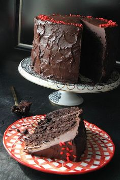 Spicy Chocolate Cake with Jalapeno Fudge Frosting by Heather Christo, via Flickr