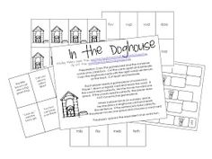 Oh My Little Classity Class: [In the Doghouse] reading fluency game