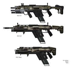 Titanfall 1: R101-C Assault Rifle by Ryan Lastimosa on ArtStation.