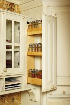 Spice Rack Cabinet from Wellborn Cabinet, Inc.