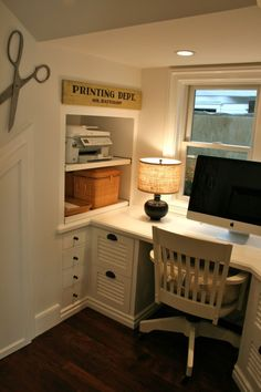 Cute Office printing department