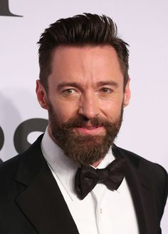 """Jason Schneidman, the man Hollywood trusts to translate the image of its biggest characters from the big screen to the red carpert says about Jackman, """"We wanted to keep the feel of Wolverine but do something more wearable.""""  He cut the hair to about a half-inch on the sides and two-and-a-half inches up top before shaping it so that it could be swept up and back, or just brushed to the side. The """"corners"""" are left rough and textured, """"so it looks a little more wild, like it hasn't just been…"""