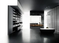 Designing systems means to foresee and offer different space compositions. Relaxing Bathroom, Bathroom Spa, Master Bathroom, Contemporary Bathrooms, Modern Bathroom, Boffi, Drawer Design, Bathroom Design Inspiration, Classic Bathroom