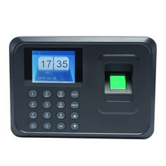 Intelligent Biometric Fingerprint Password Attendance Machine Employee Checking-in Recorder inch TFT LCD Screen DC Time Attendance Clock Biometric Fingerprint Scanner, Best Home Security, Home Security Systems, Cctv Camera Installation, Finger Print Scanner