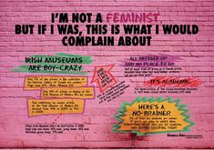 Guerrilla Girls. I'm Not A Feminist, 2009. ©Guerrilla Girls.