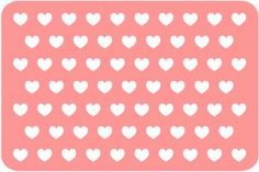 Silhouette Online Store - View Design #45241: heart 4 x 6 journaling card