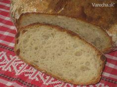 Domáci chlieb s vareným zemiakom (fotorecept) - recept | Varecha.sk Bread, Pizza, Basket, Kitchens, Brot, Baking, Breads, Buns