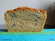 Moje Małe Czarowanie: Chleb pytlowy na zakwasie z pestkami dyni