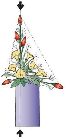 Image result for traditional triangular floral design