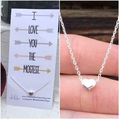 Still looking for a little vday gift❤️? This necklace from our friends @thehazelboutique is perfect for your friend, daughter, sister, mother, etc! Just $7 and guaranteed delivery before Valentine's. Custom card included with purchase