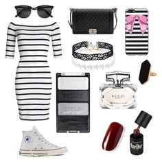 """""""Untitled #2"""" by giogio0353 on Polyvore featuring Superdry, Converse, Chanel, Jaeger, Harrods and Gucci"""
