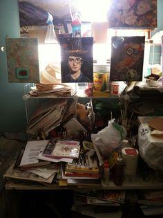 WJC's Digital World: My Studio Table - A Blog Hop