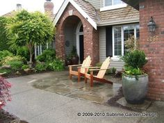 front patio- to get rid of our drainage issue