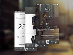 Cyclists app  by Vincent G | UI