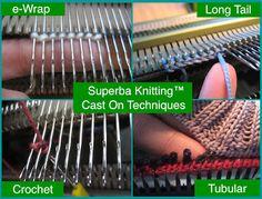 Суперба Вязание ™: обзор В ролях О методах дома вязальных машин. © Патрик Мэдден