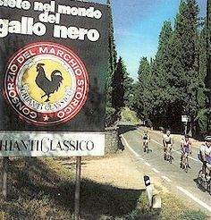 Biking in Tuscani