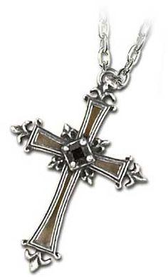 Alchemy 'Matins Cross' Necklace