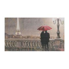 Paris at Night Canvas Art Print   Kirklands