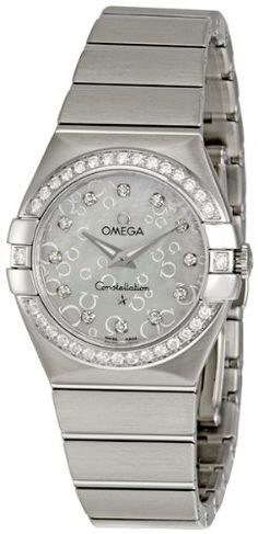 Offers Price, Discount $1,193.79 (19%) - Omega Womens 123.15.27.60.55.005 Constellation Mother-Of-Pearl Dial Watch - Buy Now only $5,106.21 USD for 2 Items Available In Stock - Usually ships in 24 hours