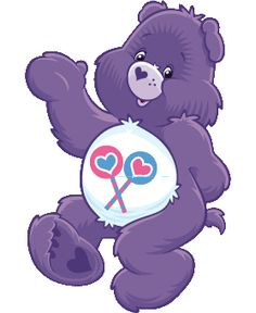 I have had a stuffed carebear just like this one every since i was little. he goes everywhere with me... he is like my little boyfriend, and i love him bunches