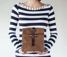 Rust & Cordovan Lunch Tote