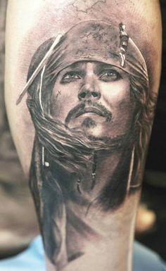 Tattoo Artist - Miguel Bohigues   www.worldtattoogallery.com/movies_tattoo