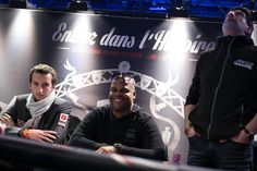 Ricardo Manquant (au milieu) termine à la 7e place de cette 5e édition du Winamax Poker Tour. La finale #WiPT 2015/2016 au Cercle Clichy Montmartre. Crédit photo: Caroline Tribot #Winamax #Poker #CCM