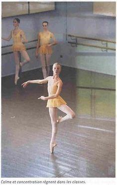 capture personality in pose Paris Opera School